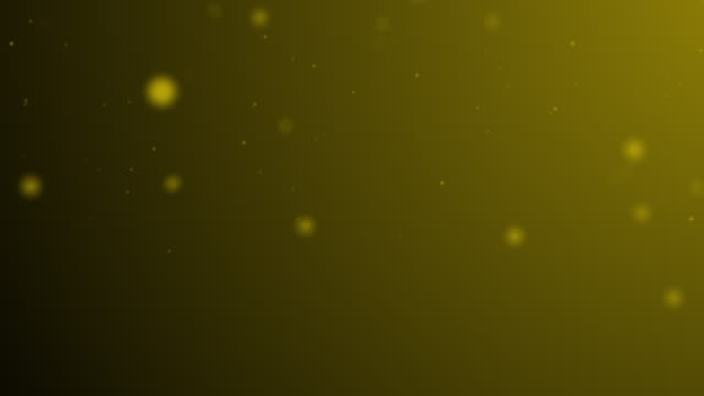 slowly moving yellow green bokeh, glitter lights, defocused light reflections on a colored gradient 4k loopable blurred motion video for concepts of winter, snow, love, transitions, christmas, party-social events, celebration events, birthday events - less than 10 seconds stock videos & royalty-free footage