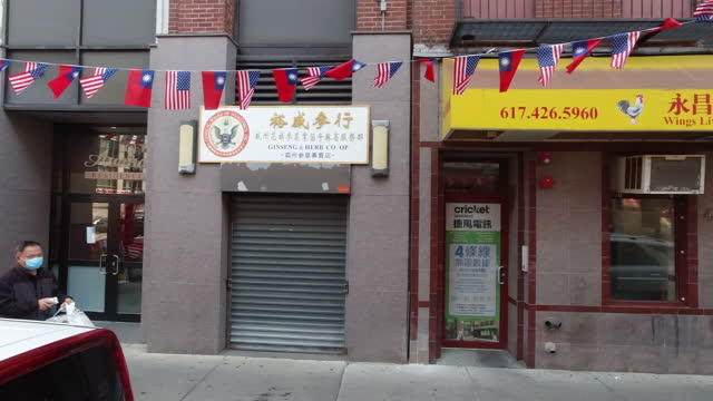 usa slowly re-opens in massachusetts - chinatown stock videos & royalty-free footage