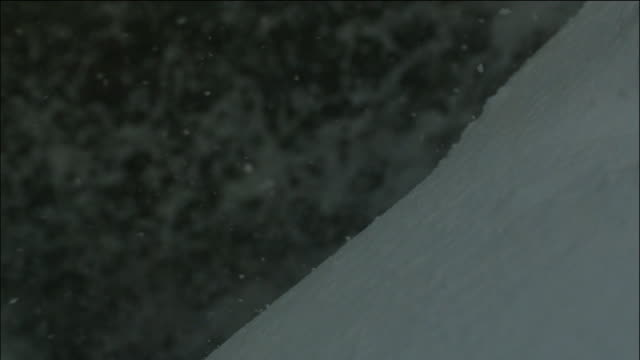 slowmotion; snowflakes falling, hokkaido, japan - snowflake stock videos & royalty-free footage