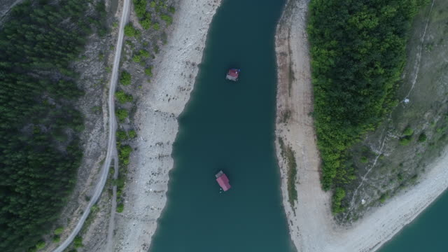small bay on the lake zavoj - coastal feature stock videos & royalty-free footage