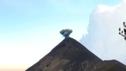 Small Black Eruption o the Vulcan