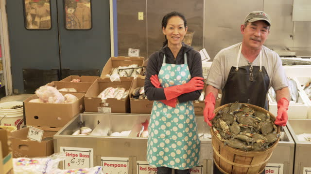 Small Business Owners of Fish Market