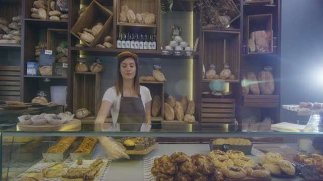small business - bakery stock videos and b-roll footage