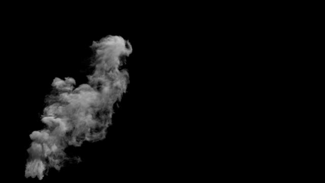 stockvideo's en b-roll-footage met small chimneysmoke - smoke physical structure