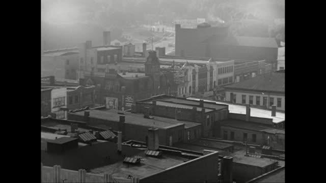 ws ha pan small city / pontiac, michigan, united states - pontiac stock videos and b-roll footage