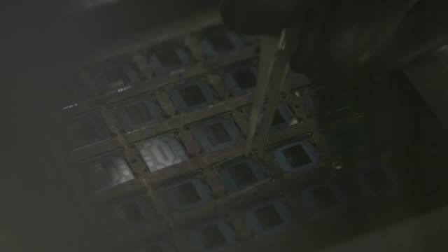 small clear glass solar cells in michigan state university in east lansing michigan on march 23rd 2015 shots interior close shot of a solar cell... - lansing stock videos and b-roll footage