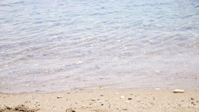小さな海岸の眺め - 鎮静薬点の映像素材/bロール