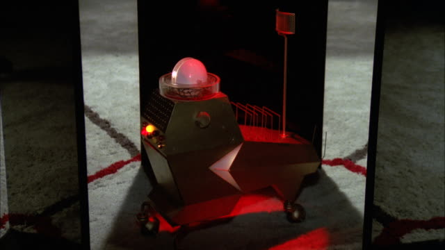 MS Small computer robot operating by command