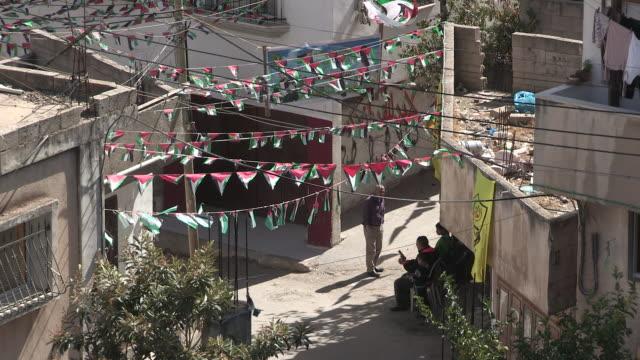 Small Intersection, Balata Refugee Camp, Palestine