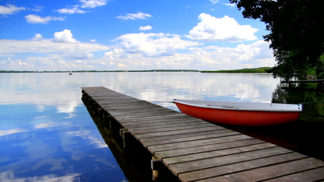 Small jetty landscape - HD