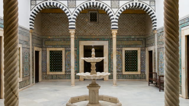 Small Patio of Bey Palace