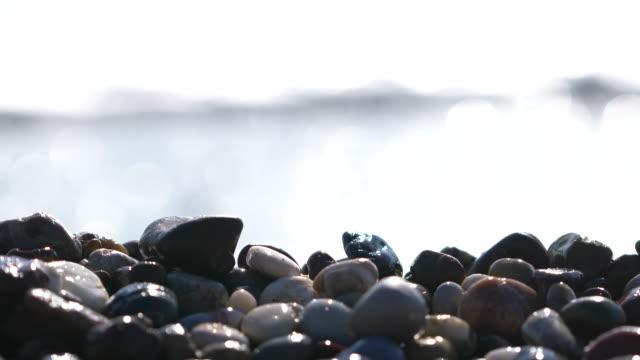 Small Pebble stones on the beach