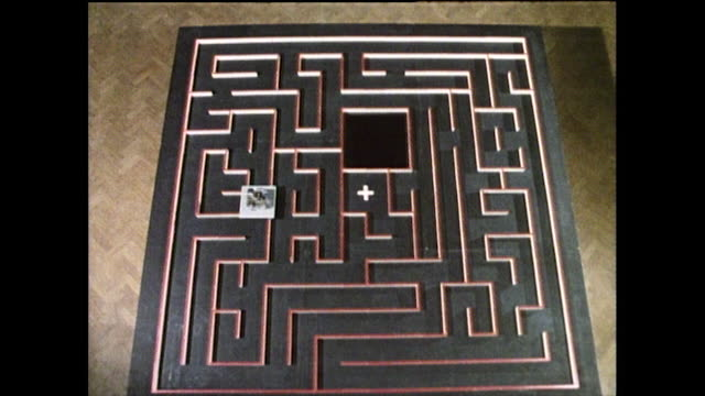 small robot moves through a maze; 1985 - confusion stock videos & royalty-free footage
