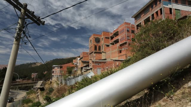 stockvideo's en b-roll-footage met a small scale hydro power plant in la paz, bolivia. - latijns amerika