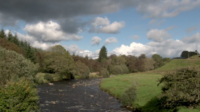 small scottish river - johnfscott stock videos and b-roll footage