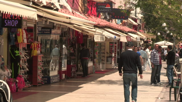 Small Shops and Shoppers, Kusadasi, Turkey