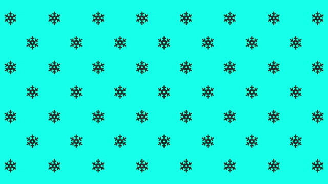 Small Snowflake Icons - Vector Animate
