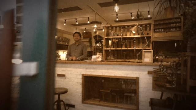 Small Tokyo Watch Shop Vintage 8mm Film Look