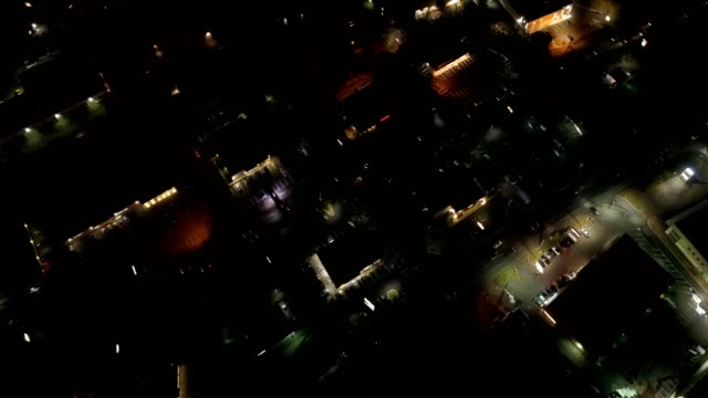 small town aerial - residential district stock videos & royalty-free footage