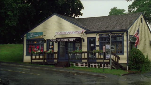 ws small town candy store - western script stock videos & royalty-free footage