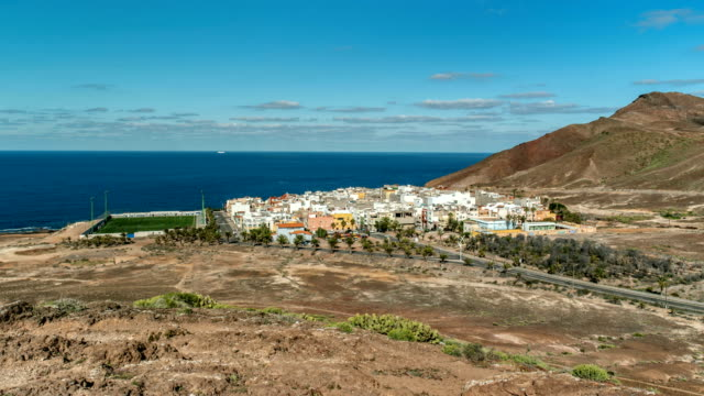 small town in northern gran canaria spain - grand canary stock videos and b-roll footage