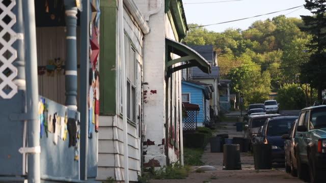 Small town neighborhood