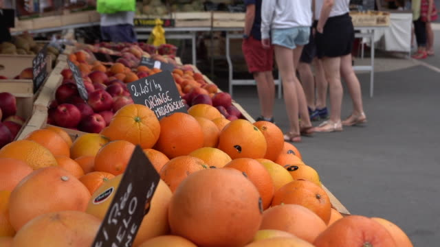 small vegetable market - market stall stock videos & royalty-free footage