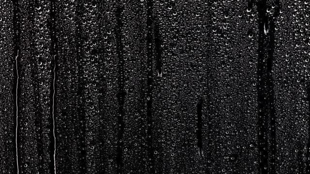 Small water Drops over a window
