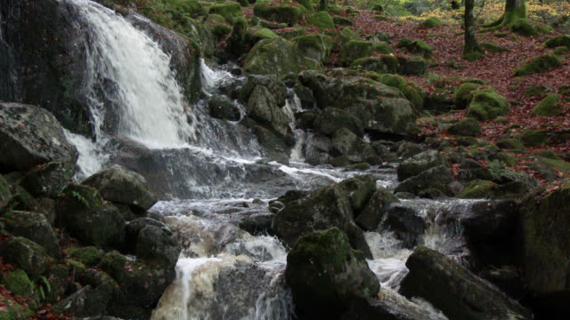 Small waterfall in rural Scotland