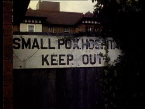 Smallpox virus TX1978/ITN GV Small Pox Hospital sign GV Hospital PULL GV Hospital