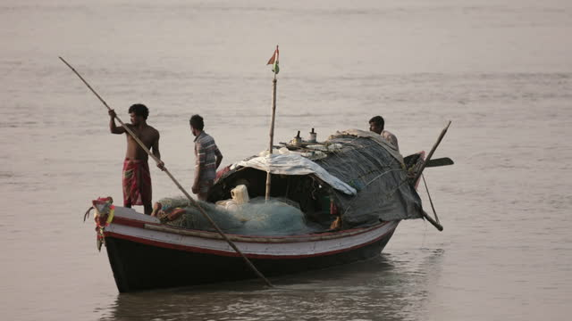 small-scale fishing, india - bamboo plant stock videos & royalty-free footage