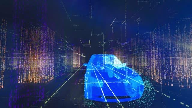 smart car - konzeptauto stock-videos und b-roll-filmmaterial