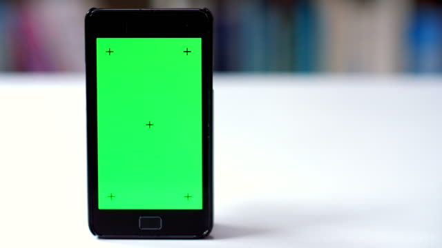 Smart phone chroma key tracking