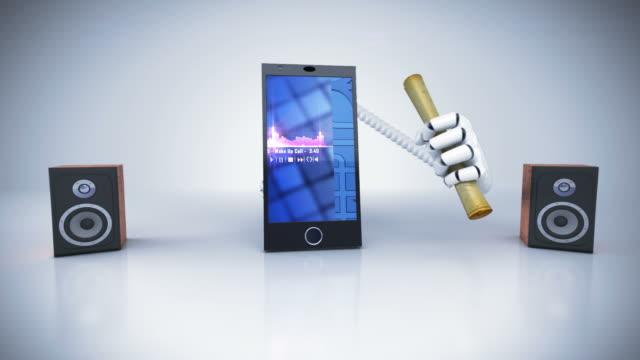 stockvideo's en b-roll-footage met smart phone - full hd - e mail