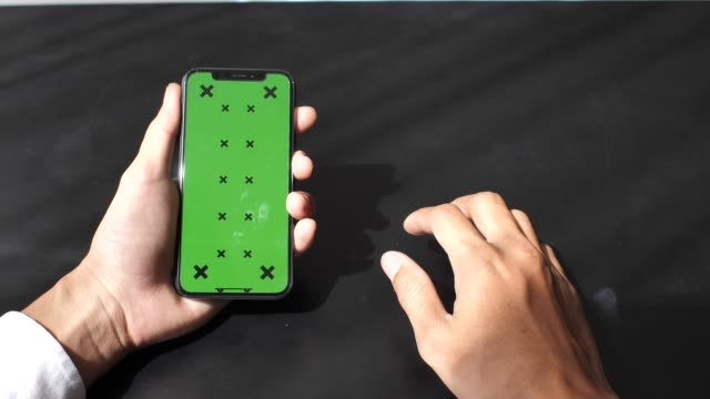 smart phone green screen - projection screen stock videos and b-roll footage
