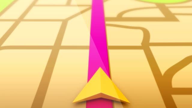 Smartphone-Navigation und GPS-Karten