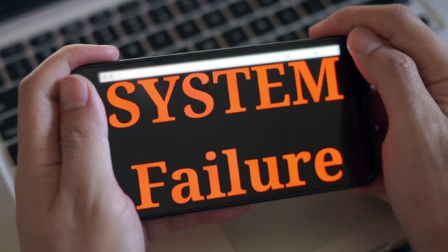 smart phone system failure - computer software stock videos & royalty-free footage