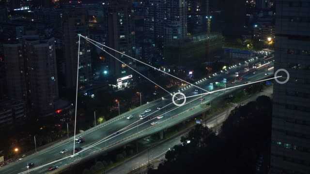 smart transportation - smart city stock videos & royalty-free footage