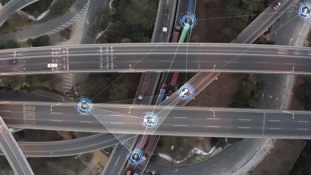 smart transportation - land vehicle stock videos & royalty-free footage