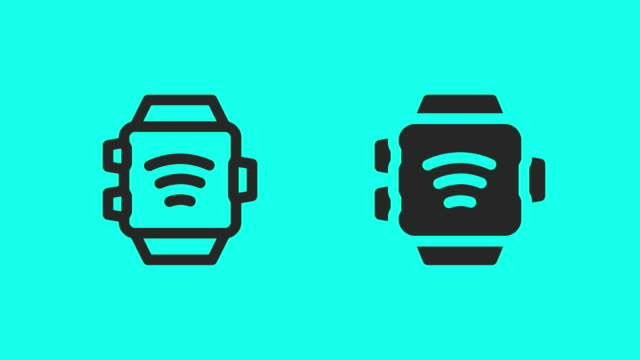 Smart Watch Icons - Vector Animate