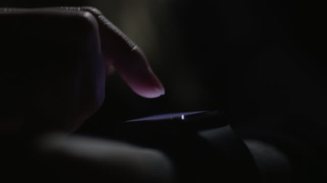 smart watch in the dark - wrist stock videos & royalty-free footage