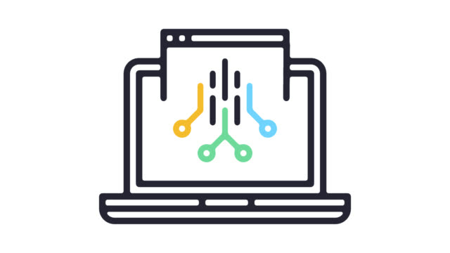 smart web application line icon animation with alpha - solutions stock videos & royalty-free footage