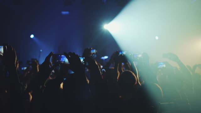 Smartphone at concert
