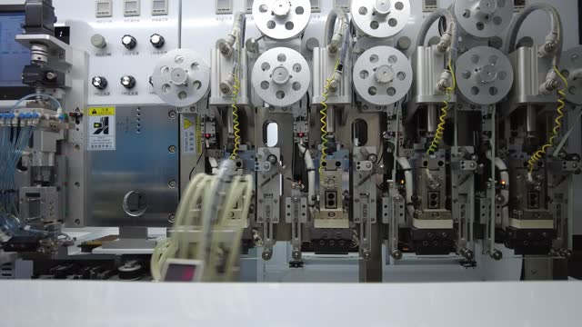 smartphone production line is seen on january 7, 2021 in ji'an, jiangxi province of china. - technology stock videos & royalty-free footage