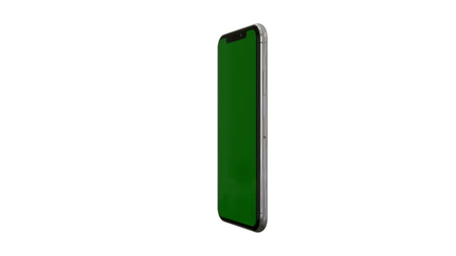 smartphone with green screen - plain background stock videos & royalty-free footage