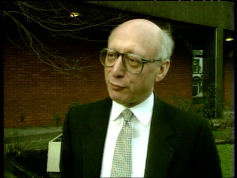 smear campaign; cms gerald kaufman intvw sof - this will be the dirtiest campaign this century/ pm john major could stop it if he wanted to int cms... - gerald kaufman stock videos & royalty-free footage