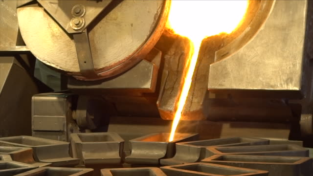 smelting gold - molten stock videos & royalty-free footage