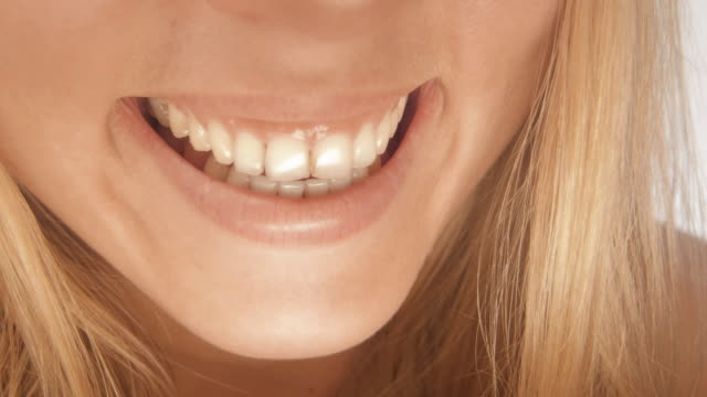 smile - teeth whitening stock videos and b-roll footage