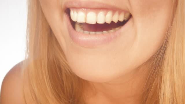 smile - teeth stock videos & royalty-free footage