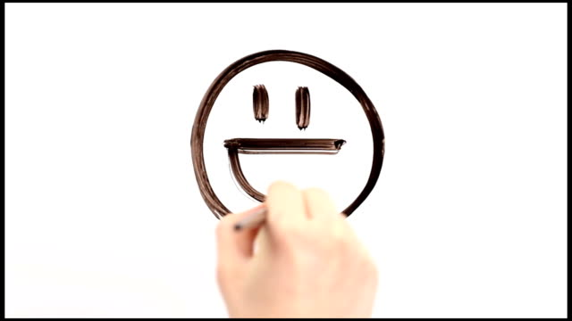 smiles - emoticon stock videos and b-roll footage